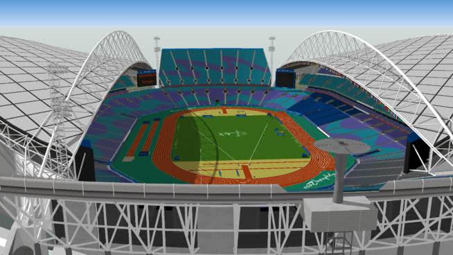 Sydney Olympic Stadium - Stadium Australia - Sydney 2000