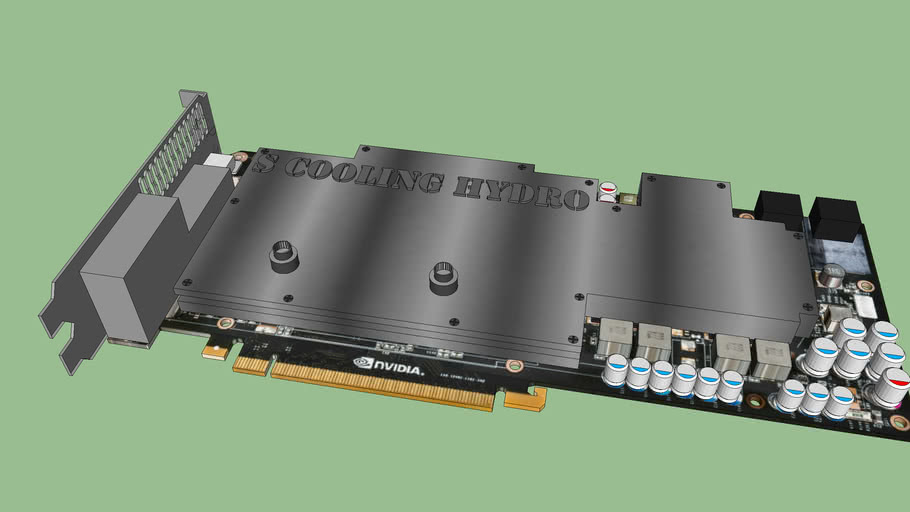 Nvidia 680 Water Cooled