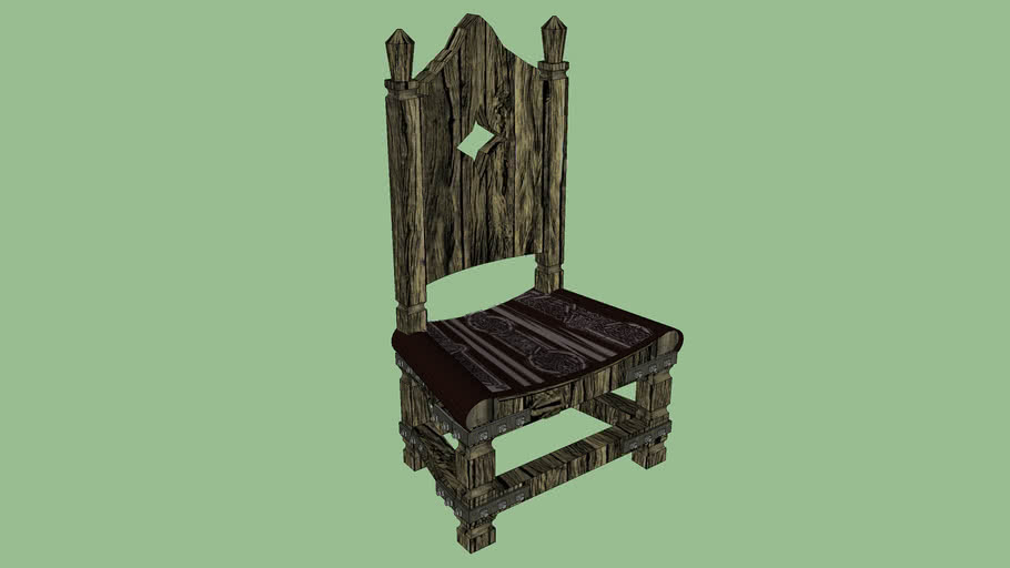 "old chair from ""Greasy Dragon"" aka ""Pri Kolji"""