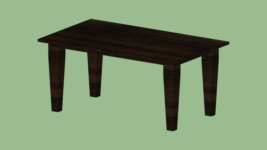 """Crate & Barrel Basque Honey 65"""" Dining Table"""