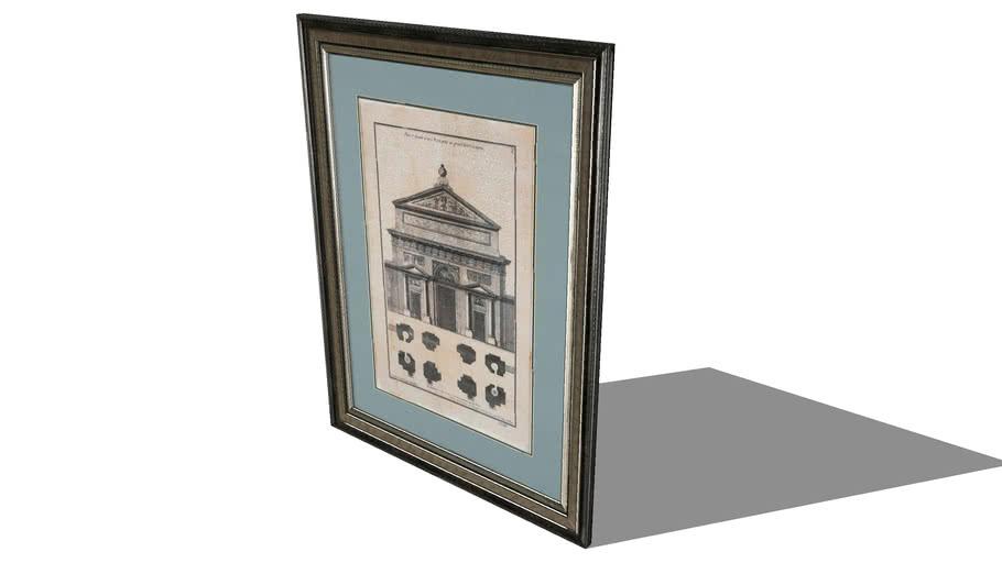 Renaissance Médicis, la toile Maisons du monde. Réf. 117.771 Prix 119 €