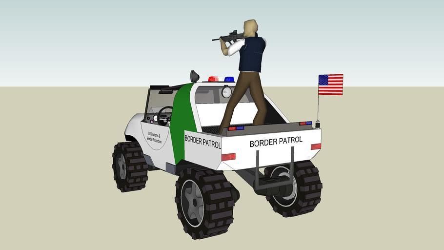 US Border Patrol Warthog! ( Borhog )