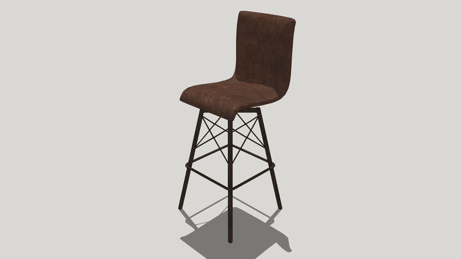 BAR CHAIR VRAY 2 OR HIGHER  RENDER READY