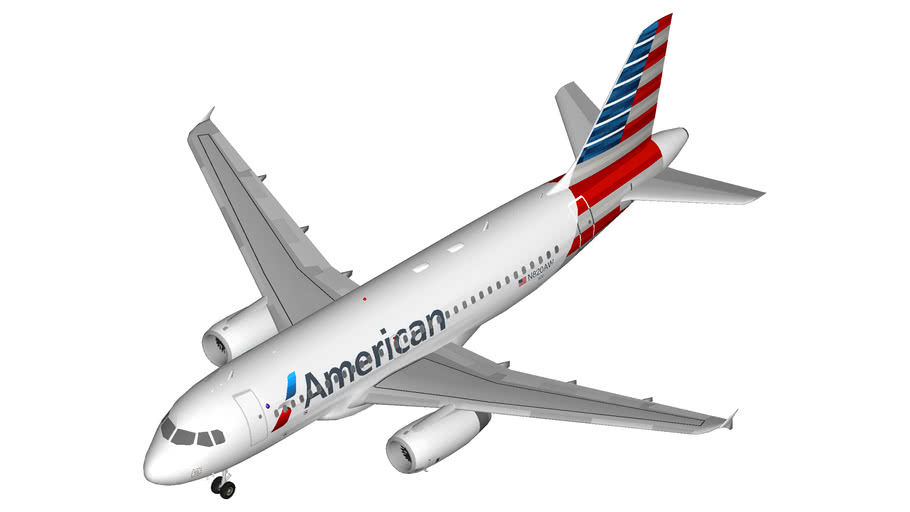 American Airlines Airbus A319 (IAE)