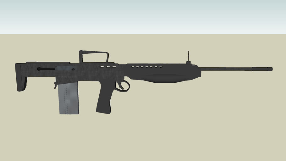 E-75A2 Assault Rifle
