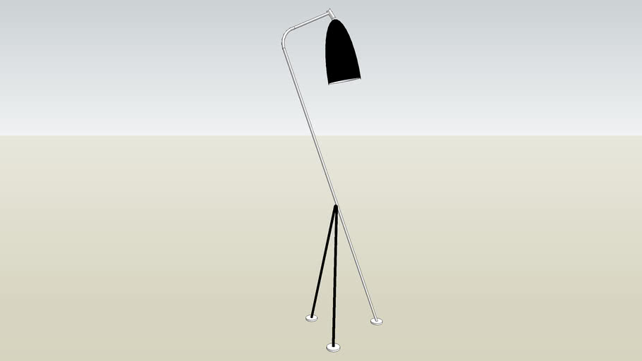 gracias grasshopper floor lamp