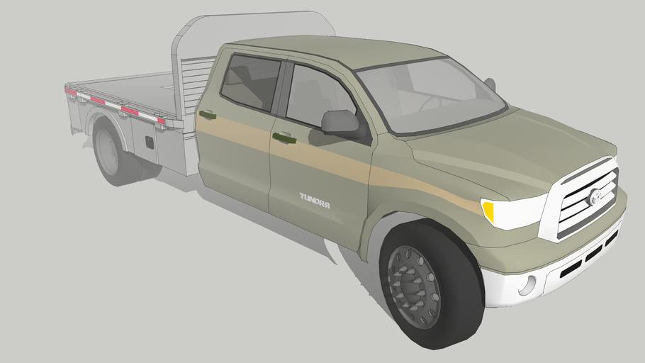 Toyota Tundra Hd Flatbed 3d Warehouse