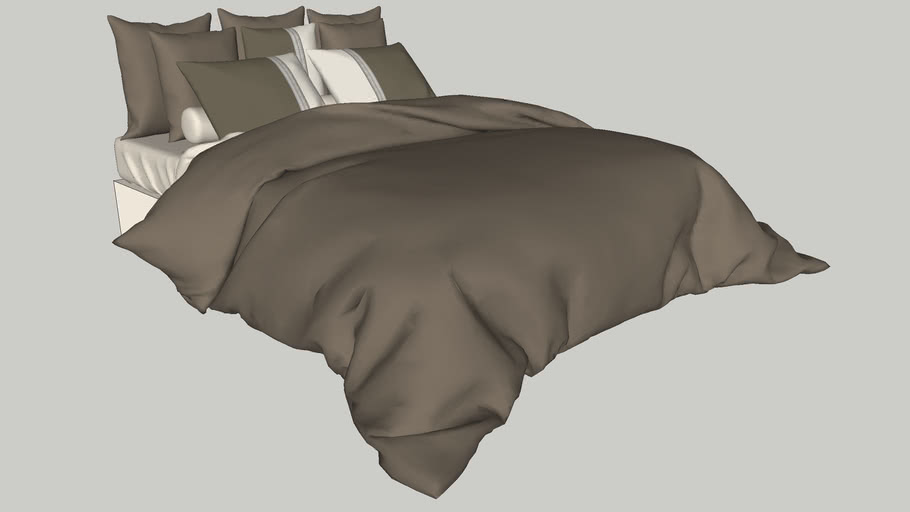 Realistic Bedding - Queen Size Bed