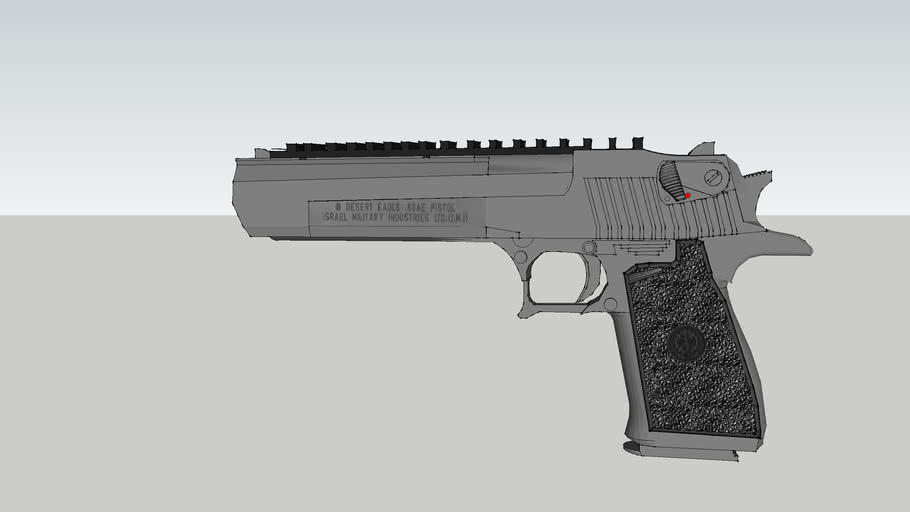 Desert Eagle (W/ Rail System for Mounting Optics)!!!