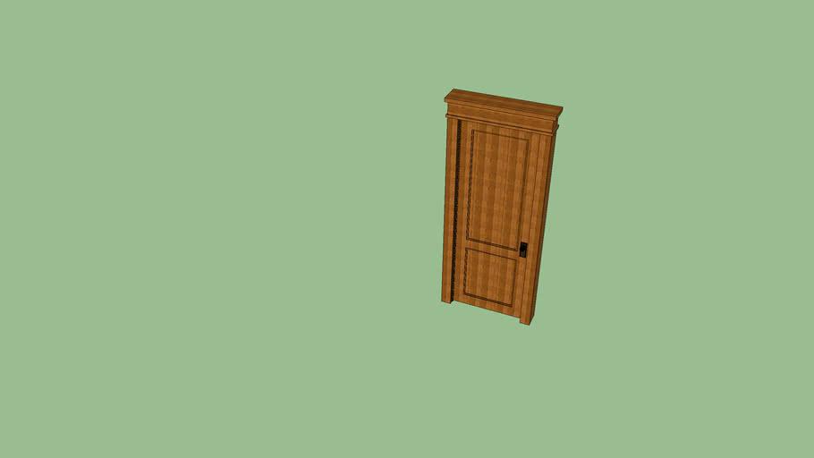 30 Wide Craftsman Style Interior Door 3d Warehouse