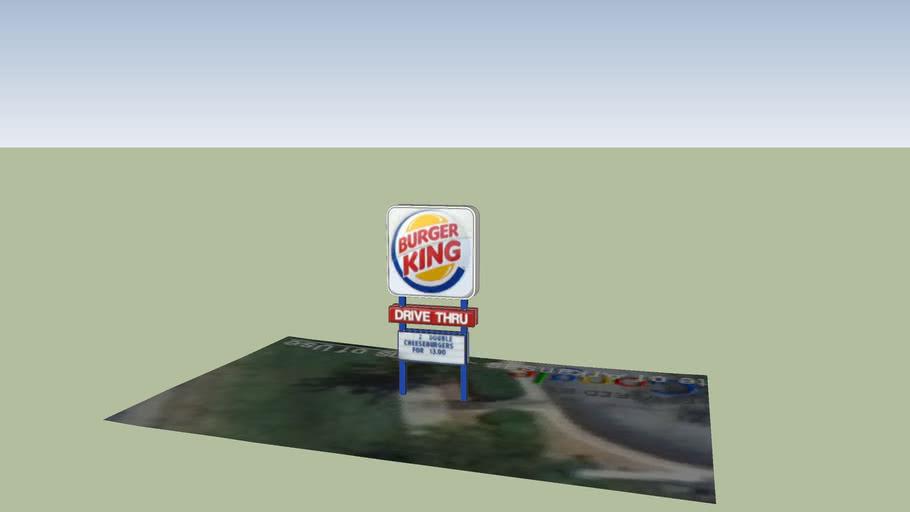 Burger King sign in Bentonville,AR