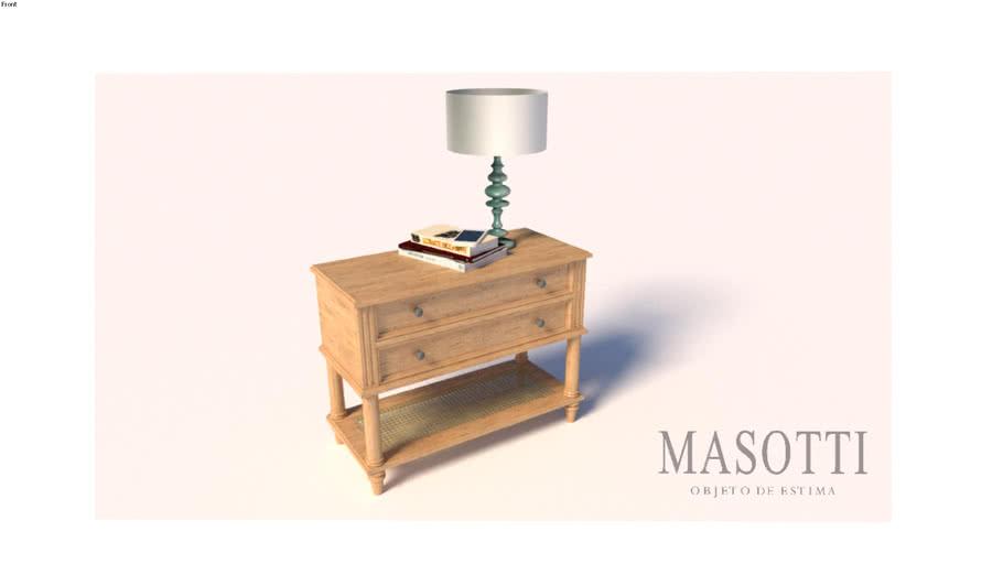 Mesa de Cabeceira Coleção Masotti MAS.328.0 F15