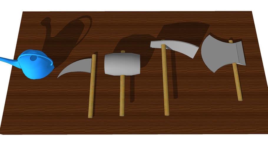 Harvest Moon Basic Farming Tools