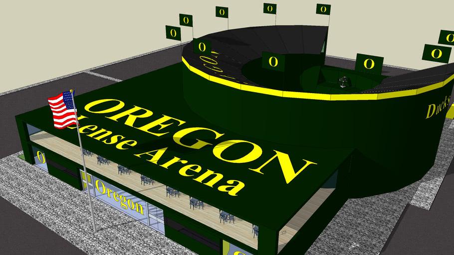 Lense Arena at the University Of Oregon