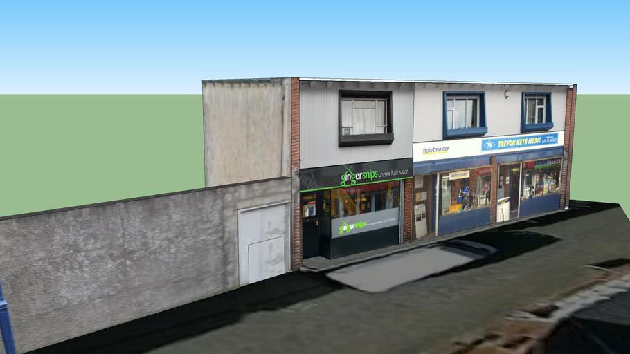 5-7 Society Street, Coleraine - Ginger Snips and Trevor Keys Music