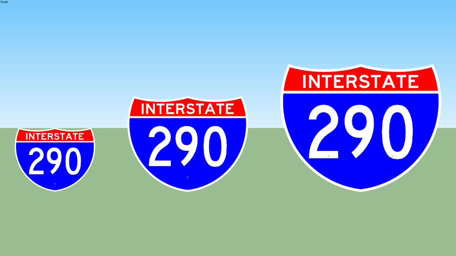 Interstate 290 Sign