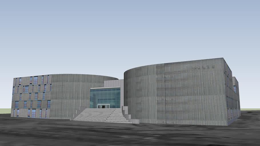 NJU XianLin Campus Library Building / 南京大学仙林校区图书馆
