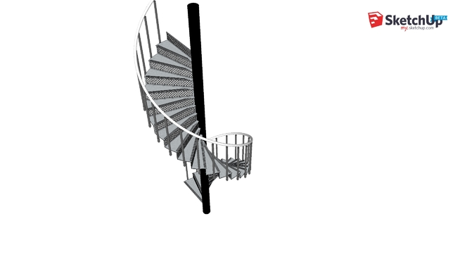 Jens3D Spiral Staircase