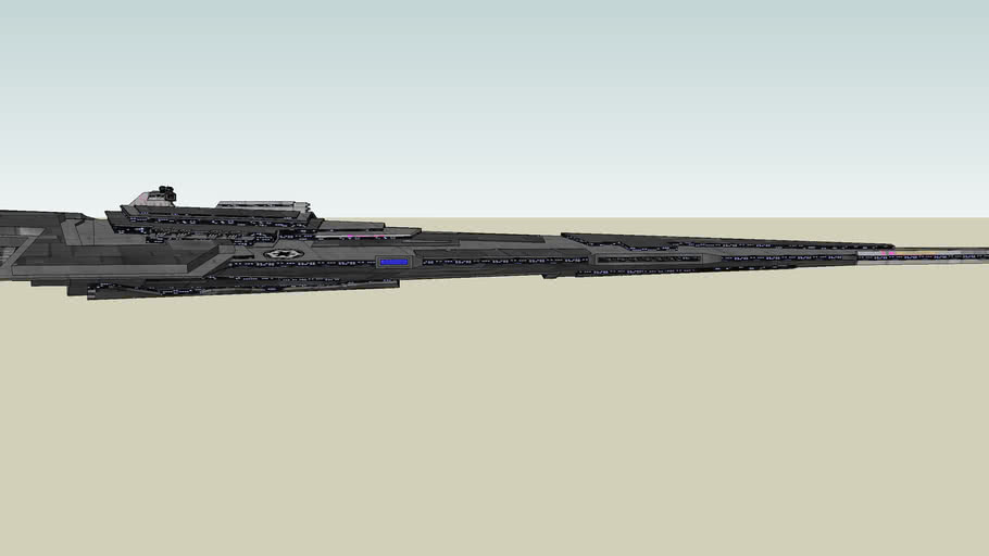 Fel Empire Super Star Destroyer Bastion-class