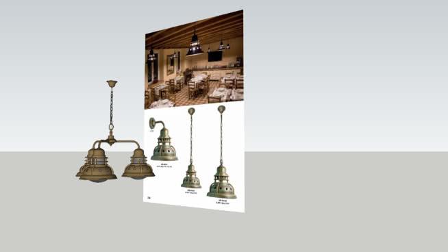 Outdoor brassware lamp_MORETTI LUCE