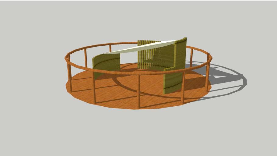 竹材ツリーハウス
