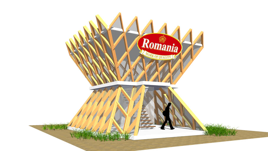 romania int-expo pavilion