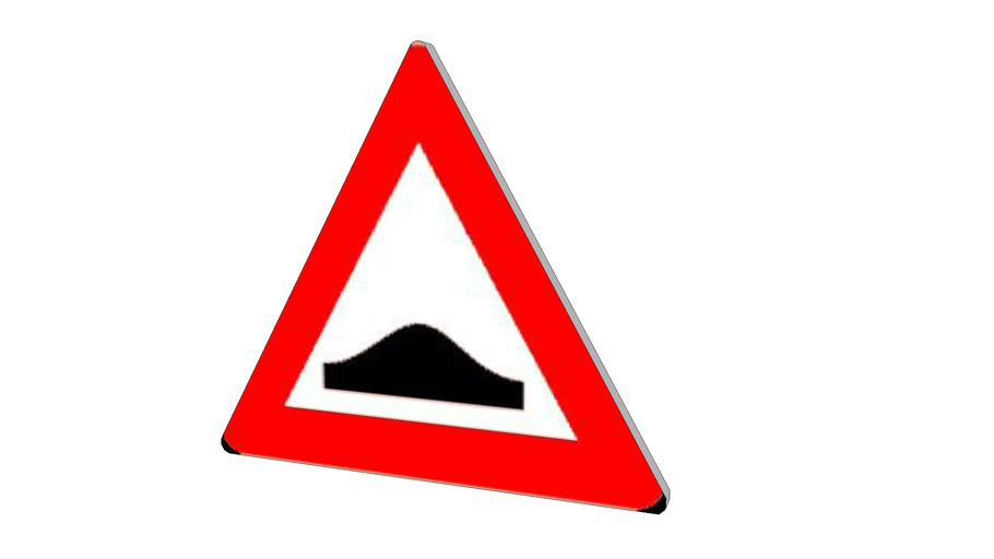 Dutch traffic sign, J38