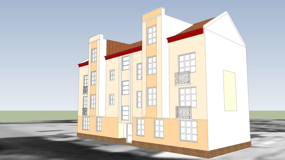 TENEMENT HOUSE ON 16 CZARTORYSKIEGO STREET IN BYDGOSZCZ