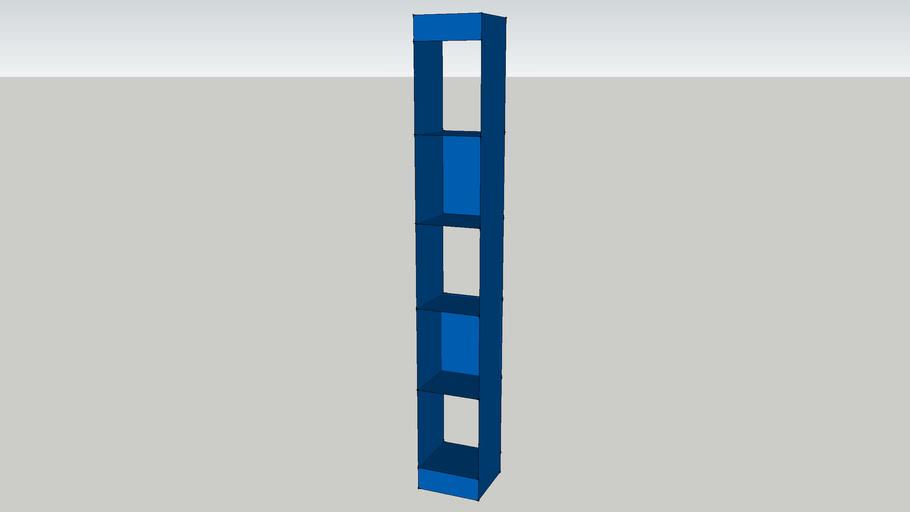 cb2 Carlson II Blue Tower
