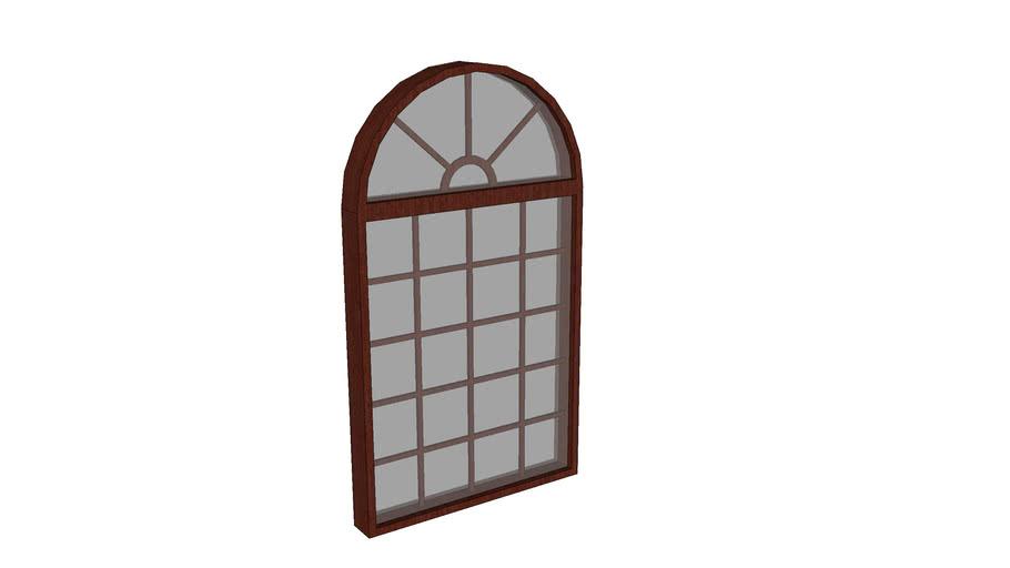 Wood Window By D. Strawn Designs