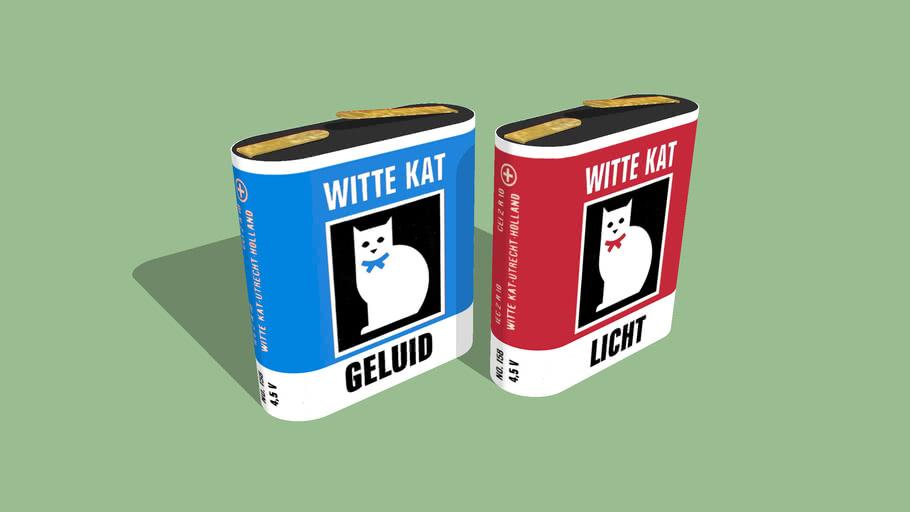 Witte Kat Baterijen 4,5V
