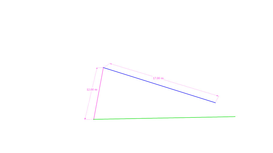 Rotate hypotenuse to meet opposite side