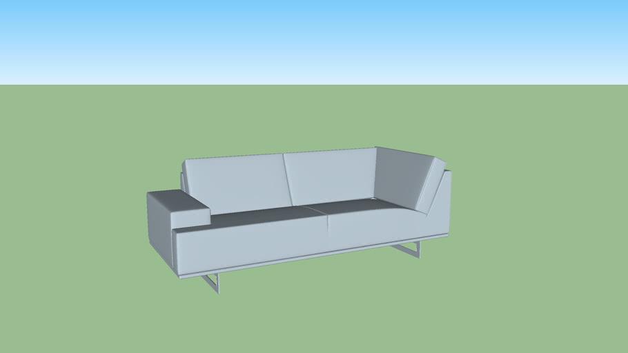 Gelderland sofa 7880 Embrace 2,5 seats with corner