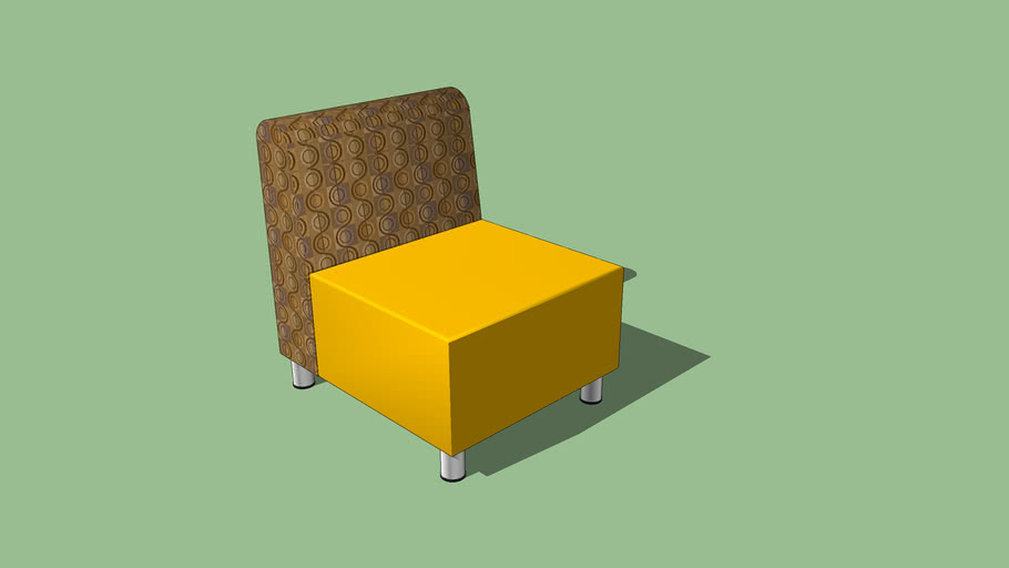 Russwood® Palette™ Soft Lounge Seating - Square Chair
