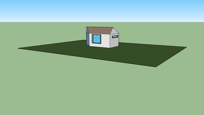 Das Haus auf der Wiese