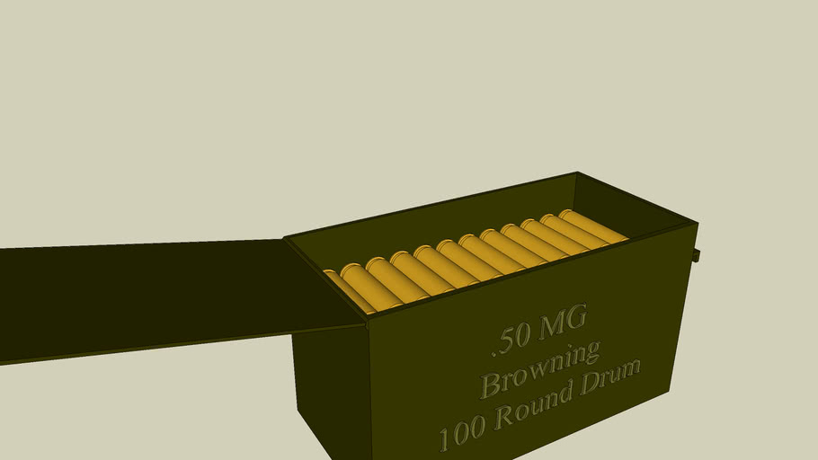 Bullets (ammo can)