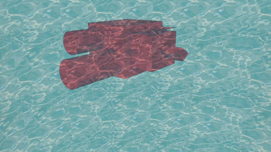 Galaxia Agua: Cometa rojo