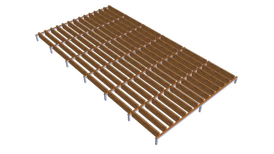 wooden plank facade