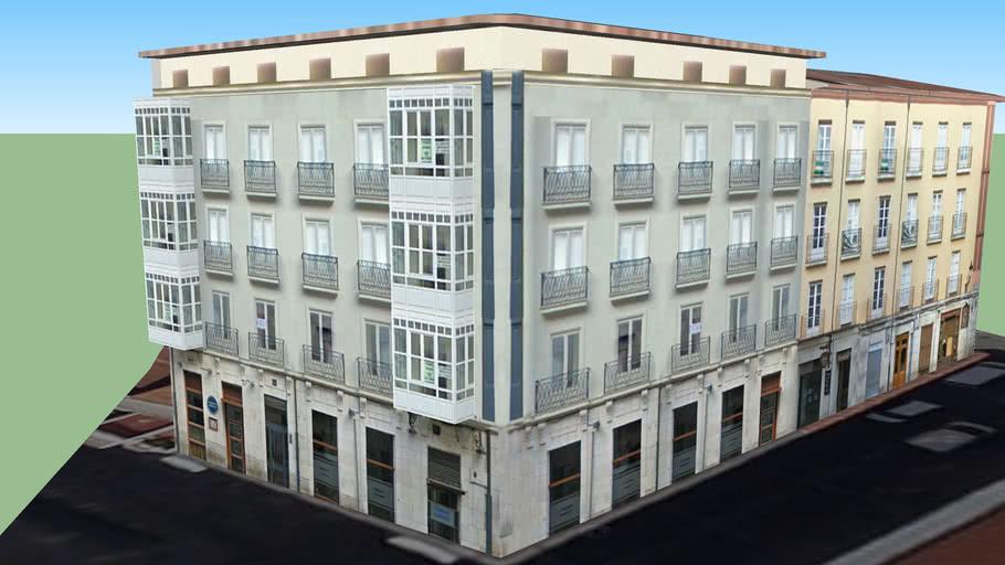 Edificio de viviendas, Huerto del Rey