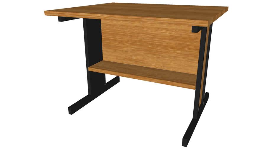 Computer Desk 30inx36inx27in - Detailed