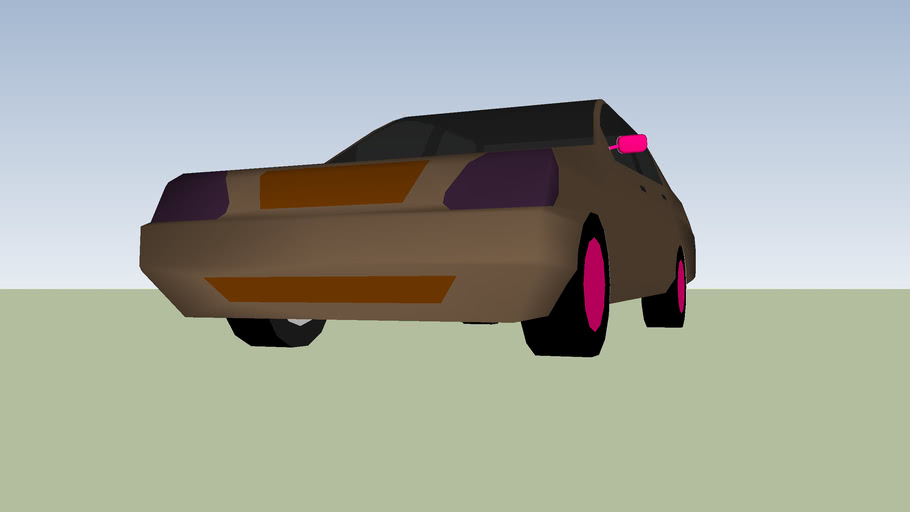 RAT STYLE CAR (simple)