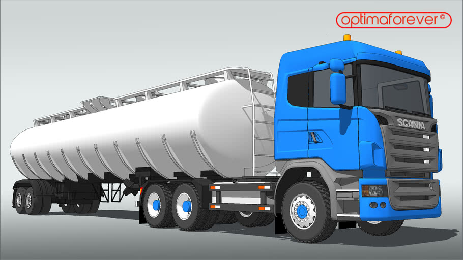 Scania R730 tanker (6 axis) proper