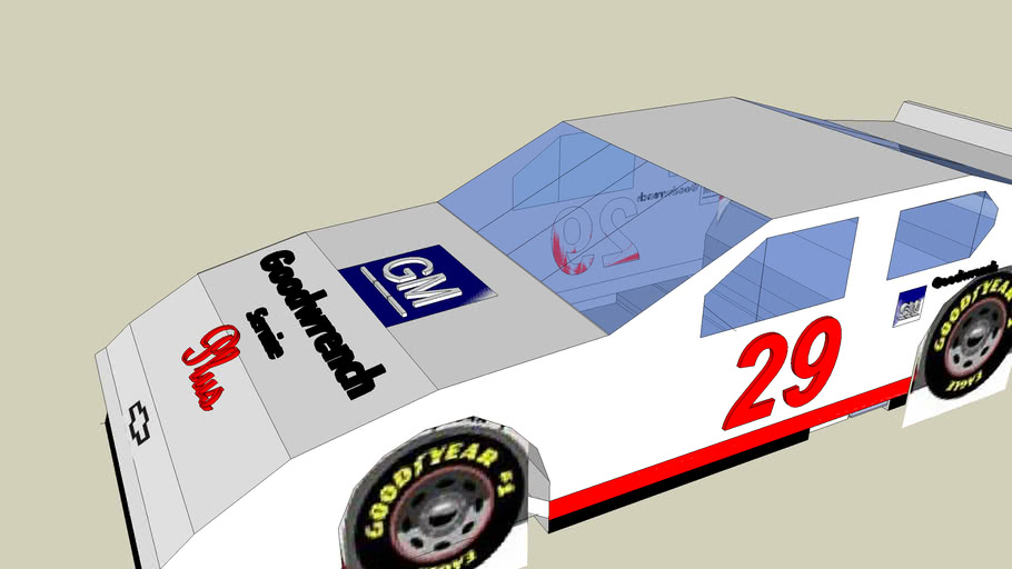 (Classic Cars) Kevin Harvick's 2001 Rookie of the Year car GM Goodwrench