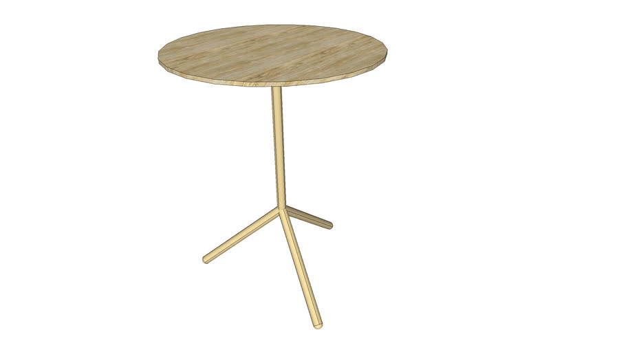 Crate and Barrel Slice Accent Table