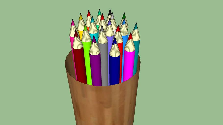 pot a crayon  G C F