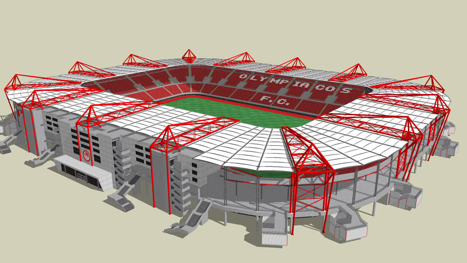 G Karaiskakis Stadium Olympiacos F C 3d Warehouse