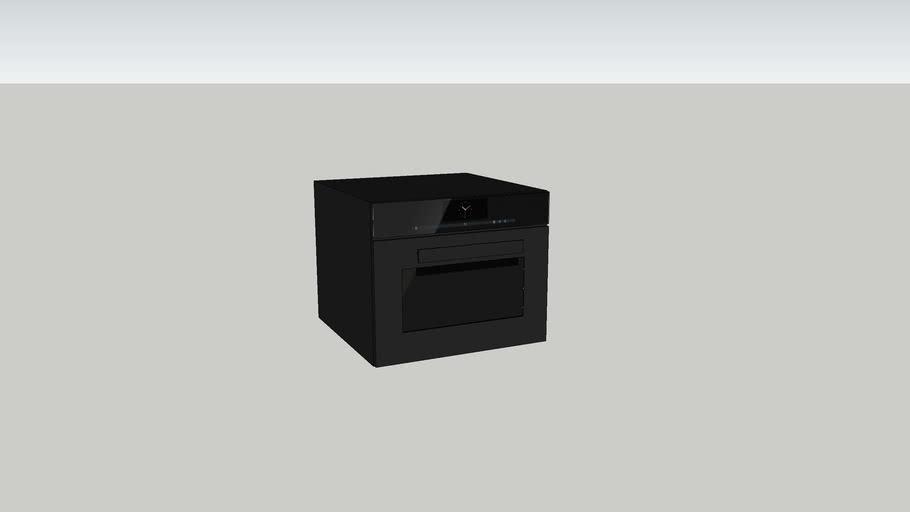Oven 600x500 Black