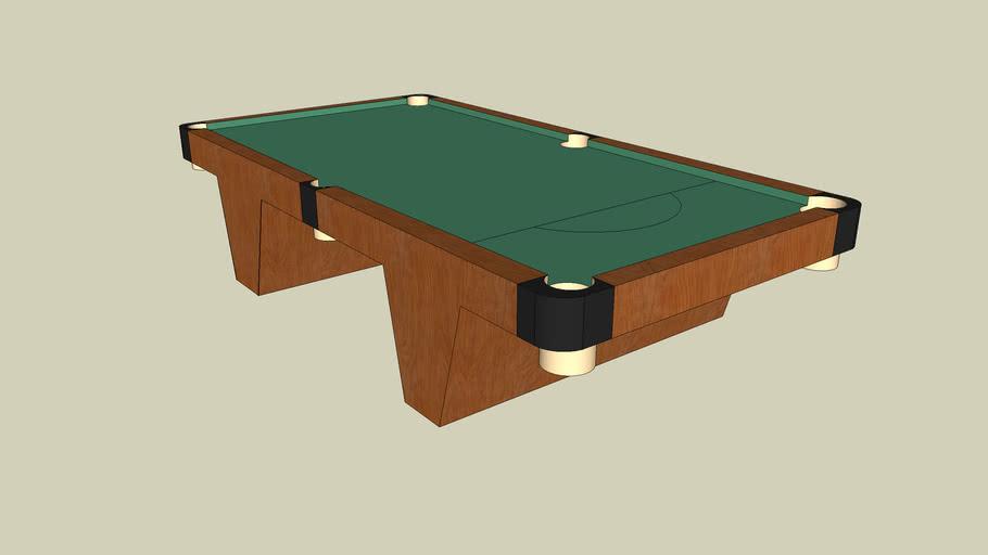 Pool Table by Tomáš Zorvan