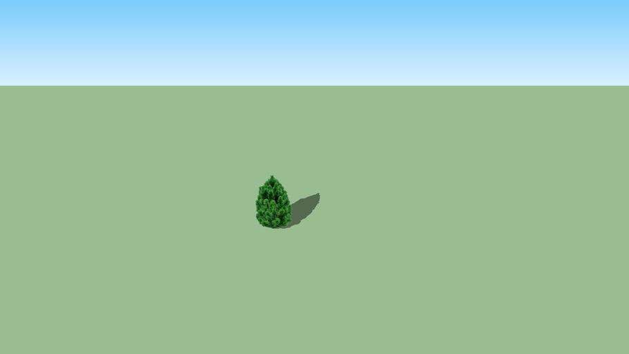 2d Pine tree mini