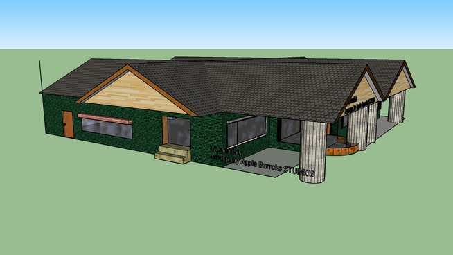3D model Lot 1662 kampung keling